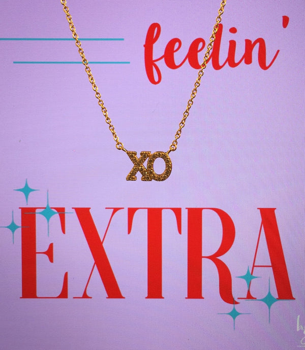 Feelin Extra XO Necklace