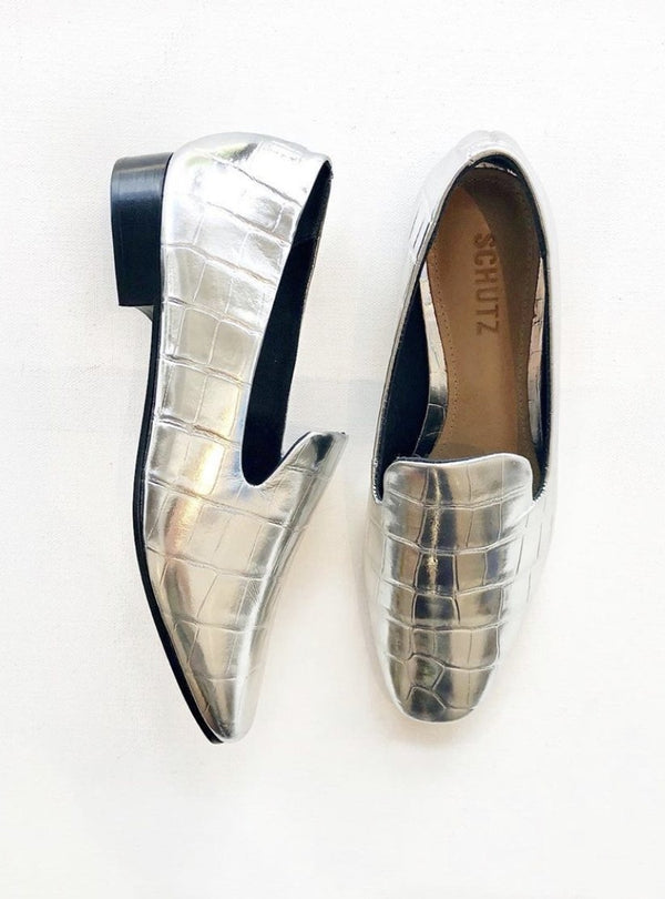 Flor Metallic Loafer