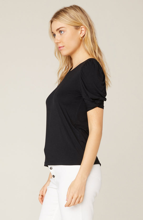 Huff & Puff Black Tee