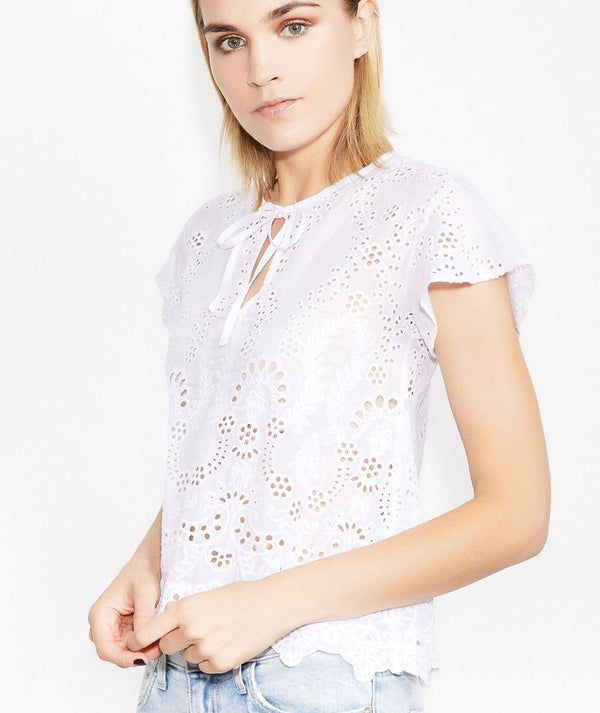 Lula Embroidered Top