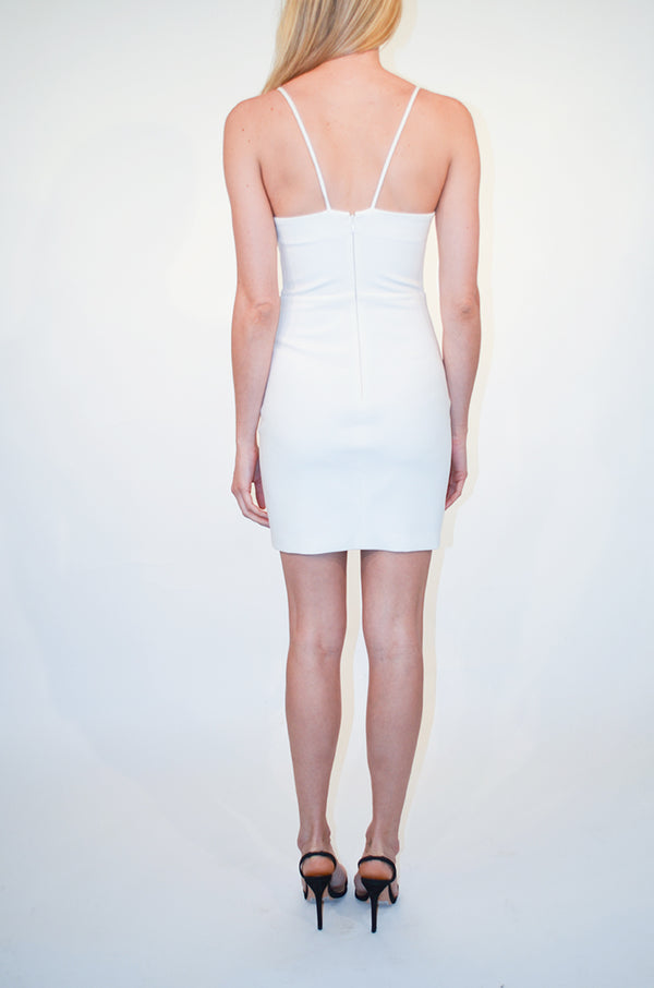 Mini White Brooklyn Dress