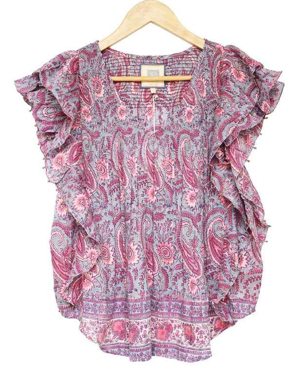 Molly Smocked Top