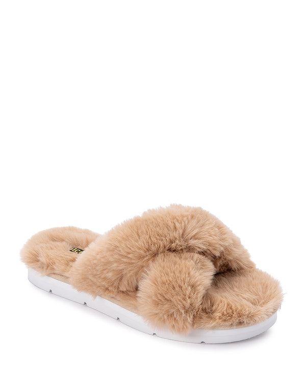 Pillar Nude Faux Fur Slipper