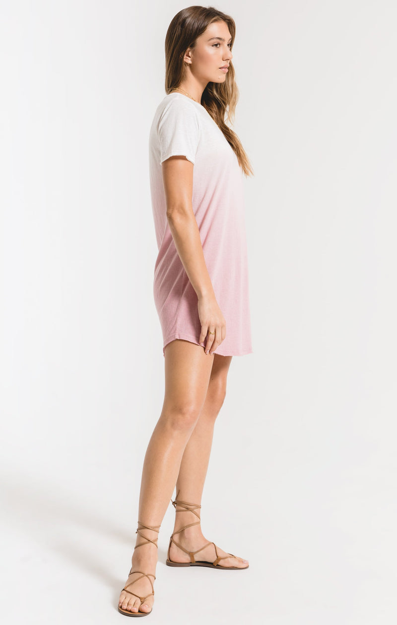 Ombre Dip Dye Dress