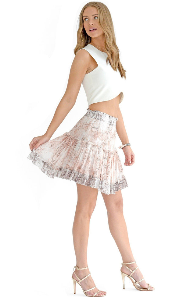 Penelope Ruffled Skirt