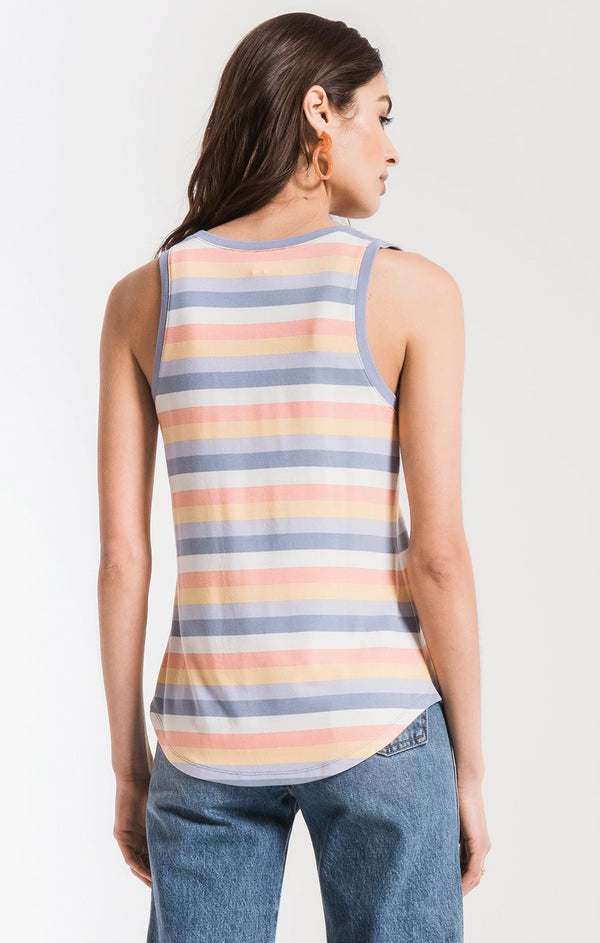 Rainbow Stripe Tank
