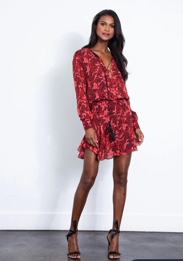 Daphne Mini dress Zig Zag