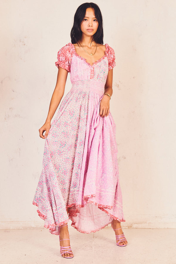 Strawberry Melange Ren Maxi Dress