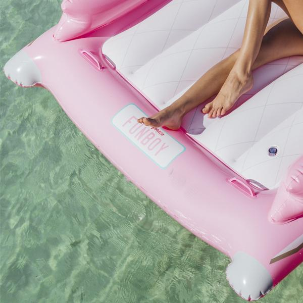 Retro Pink Convertible Float