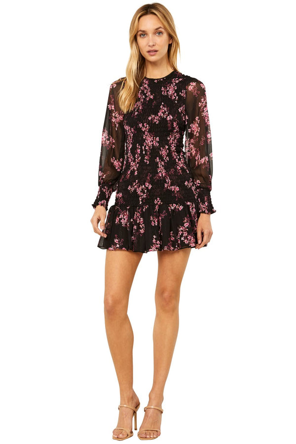 Roisin Dress Berry Floral