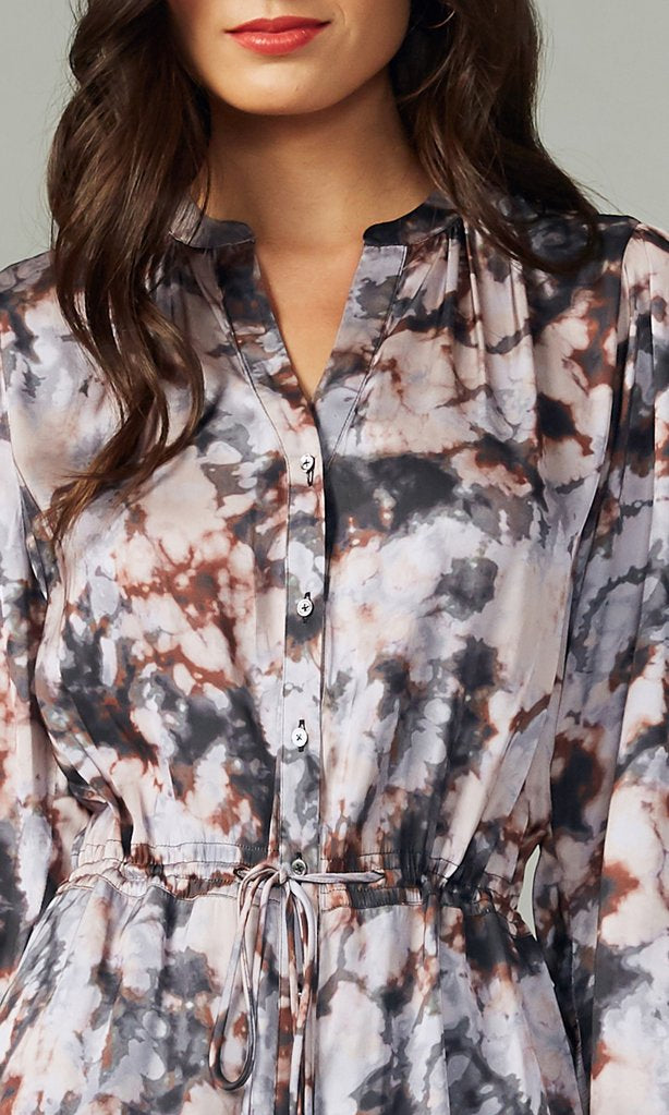 Sachi Tie Dye Shirtdress