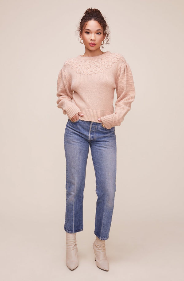 Samantha Sweater Dusty Pink