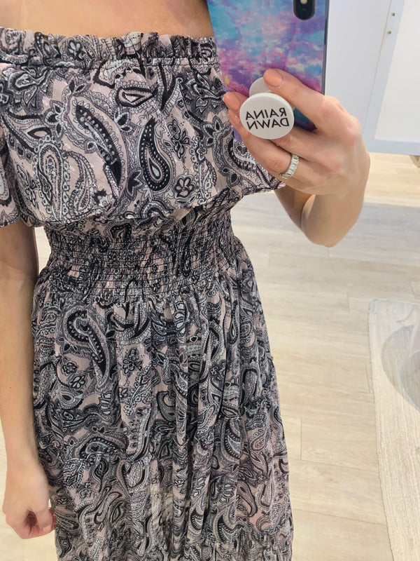 Shabelly Paisley Dress
