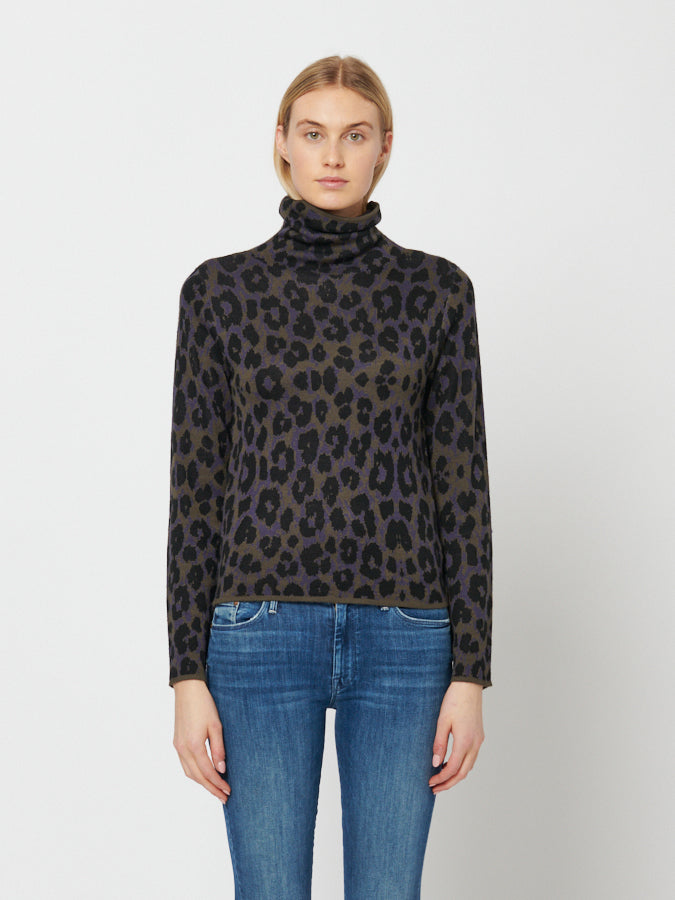 Theroux Turtleneck Sweater Midnight