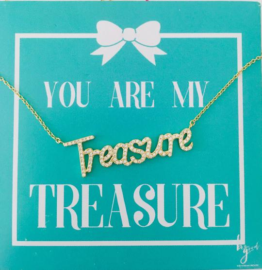 Treasure Card Necklace