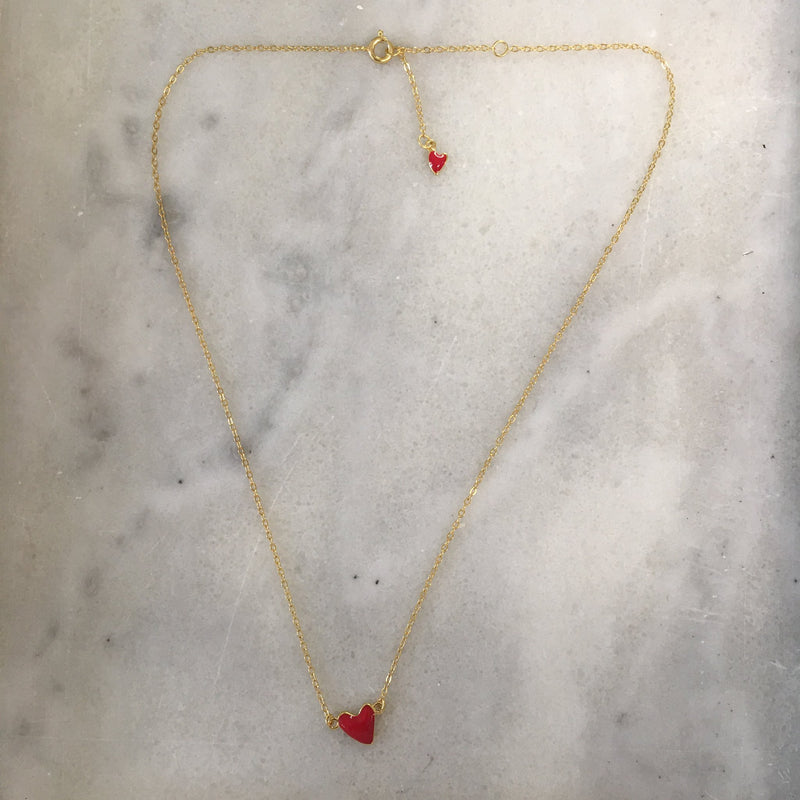 With Love Heart Necklace