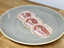 Load image into Gallery viewer, Pancetta Arrotolata - Franchi - 100gr.