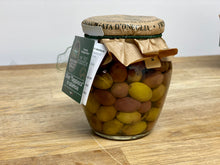 Load image into Gallery viewer, Taggiasche olives in brined 200gr. drained -  Sant'Agata d'Oneglia