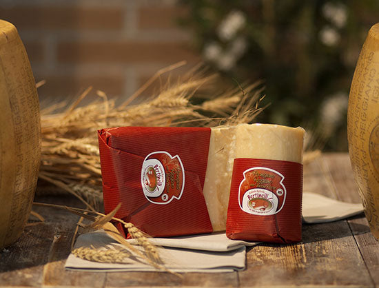 Parmigiano DOP RED COW 24mth 500gr. - Bertinelli