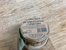Load image into Gallery viewer, Speciality Guerande quality salt with aestivum truffle 100gr. - Sant'Agata d'Oneglia