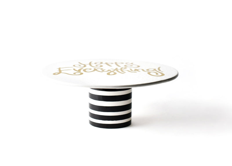 Black Stripe Cake Stand