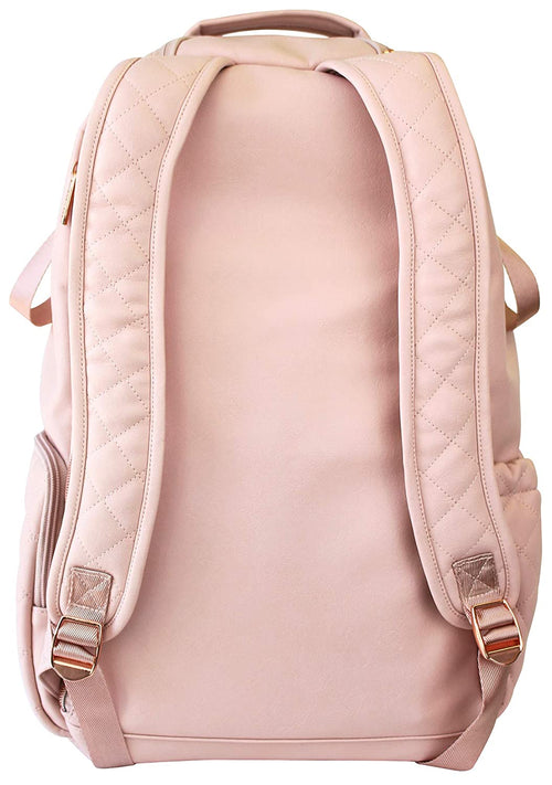 Boss Backpack Diaper Bag- Blush Crush