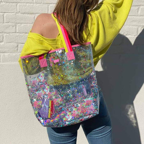 Electric Dream Confetti Bucket Bag