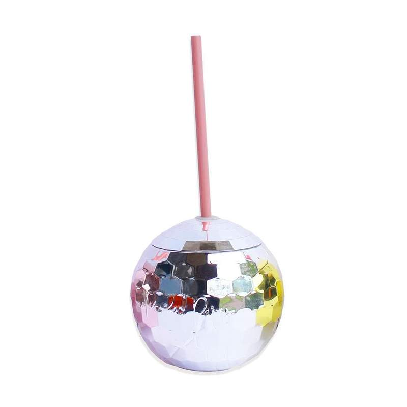 Packed Party Disco Drink- Silver