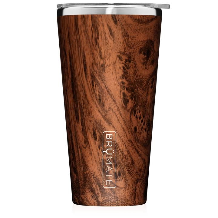 BruMate Imperial Pint Tumbler in Walnut