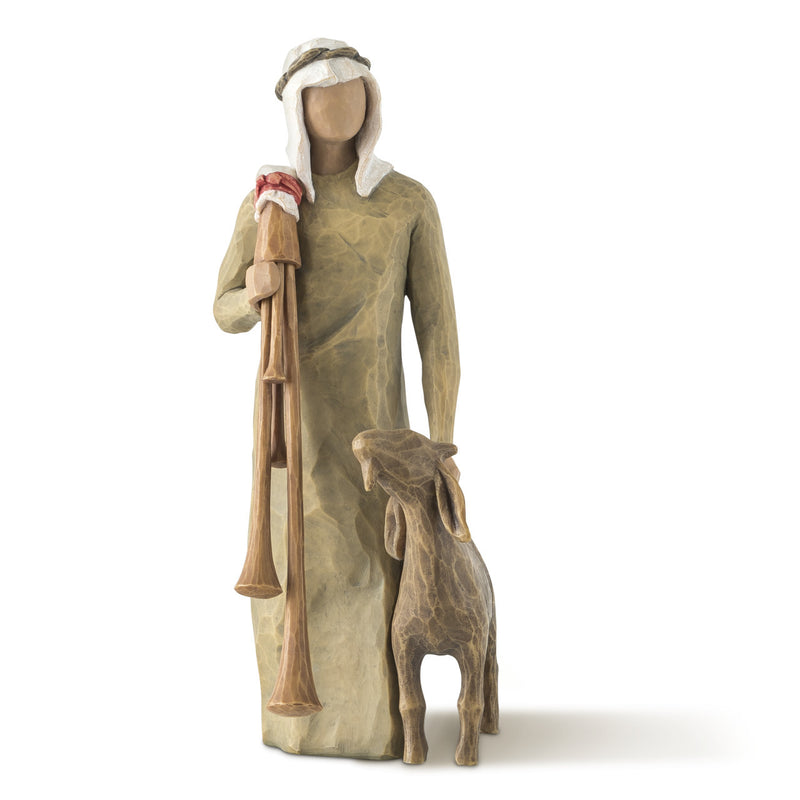 Willow Tree Zampognaro (Shepherd with Bagpipe) Figure
