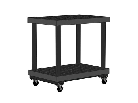 "36""W x 24""D x 37""H Two Level  Grid Top Cart"