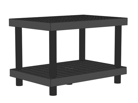 "36""W x 24""D x 24""H Two Level Raised Grid Top"