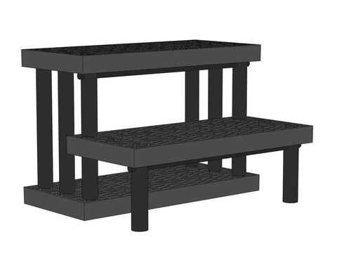 "36""W x 28""D x 24""H Two Step Single-Sided Extra Heavy Duty"