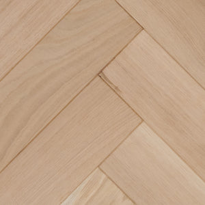 50% OFF Unfinished Solid European Oak Herringbone Parquetry - ABC Grade - M2 Price Shown