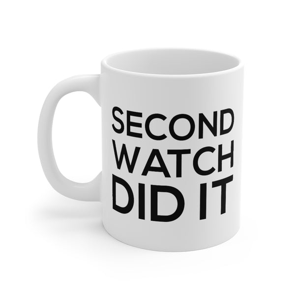 Firehouse Coffee Mugs - Second Watch Did It