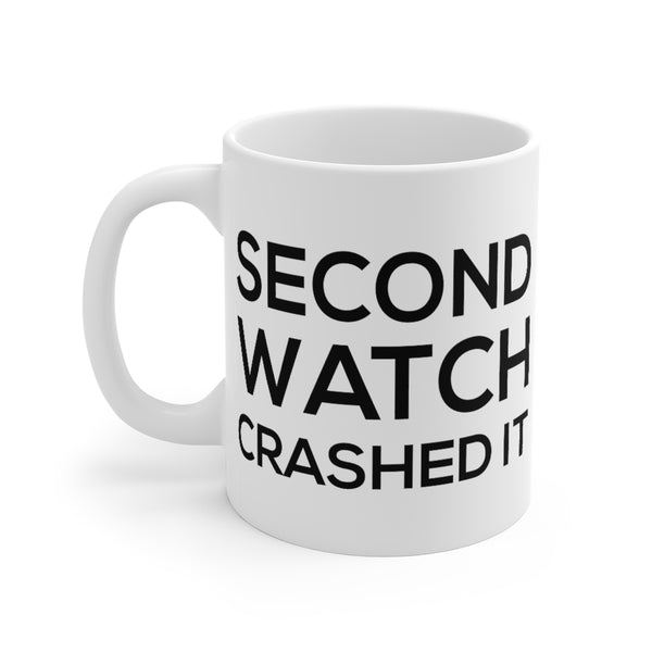 Firehouse Coffee Mugs - Second Watch Crashed It