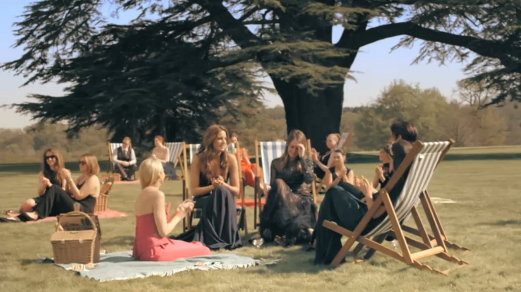 When Made in Chelsea picnic on your blankets....