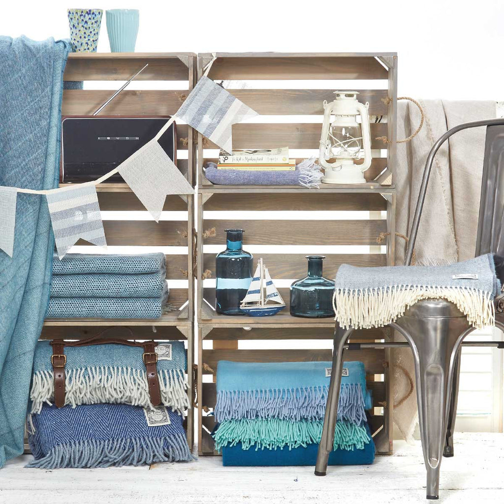 Summerhouse styling for a beach hut vibe