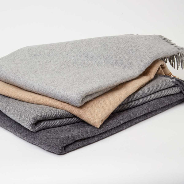 Luxury Cashmere & Alpaca Throws