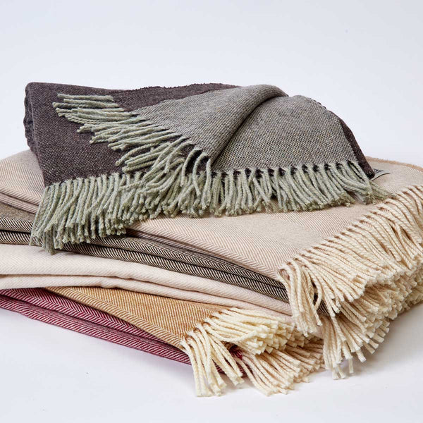 luxury wool throws