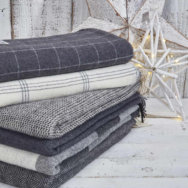 cashmere and alpaca throws Tolly McRae
