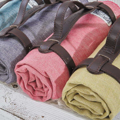 linen beach towels