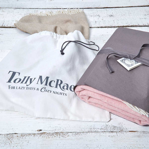 Large Cotton Dust Bag - Tolly McRae