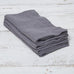 Charcoal Grey Linen Napkins - Set of Four - Tolly McRae