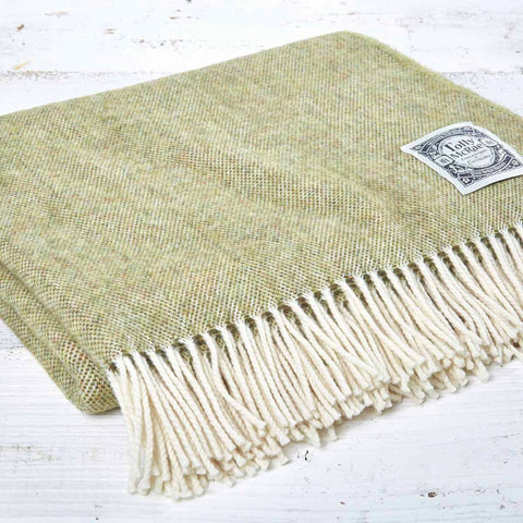Super Soft Merino Throw - Pear - Tolly McRae
