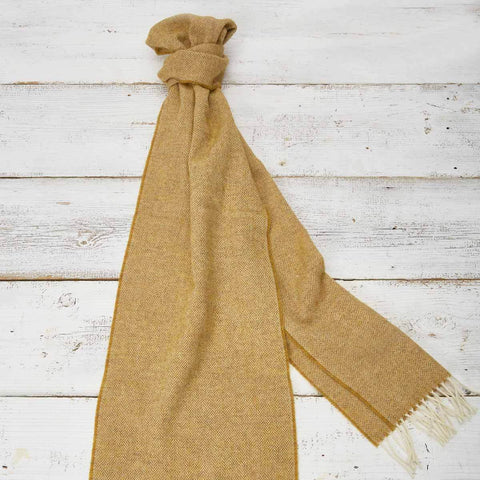 Extra Long Scarf - Mustard - Tolly McRae