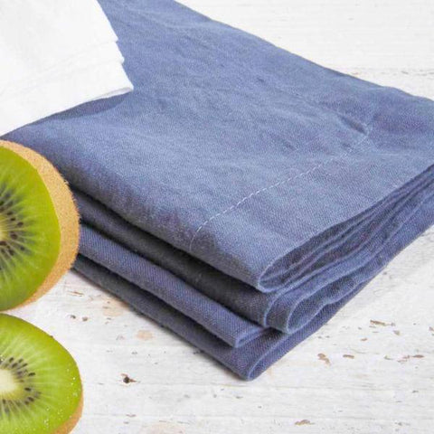 Blue Linen Placemats - Set of four - Tolly McRae