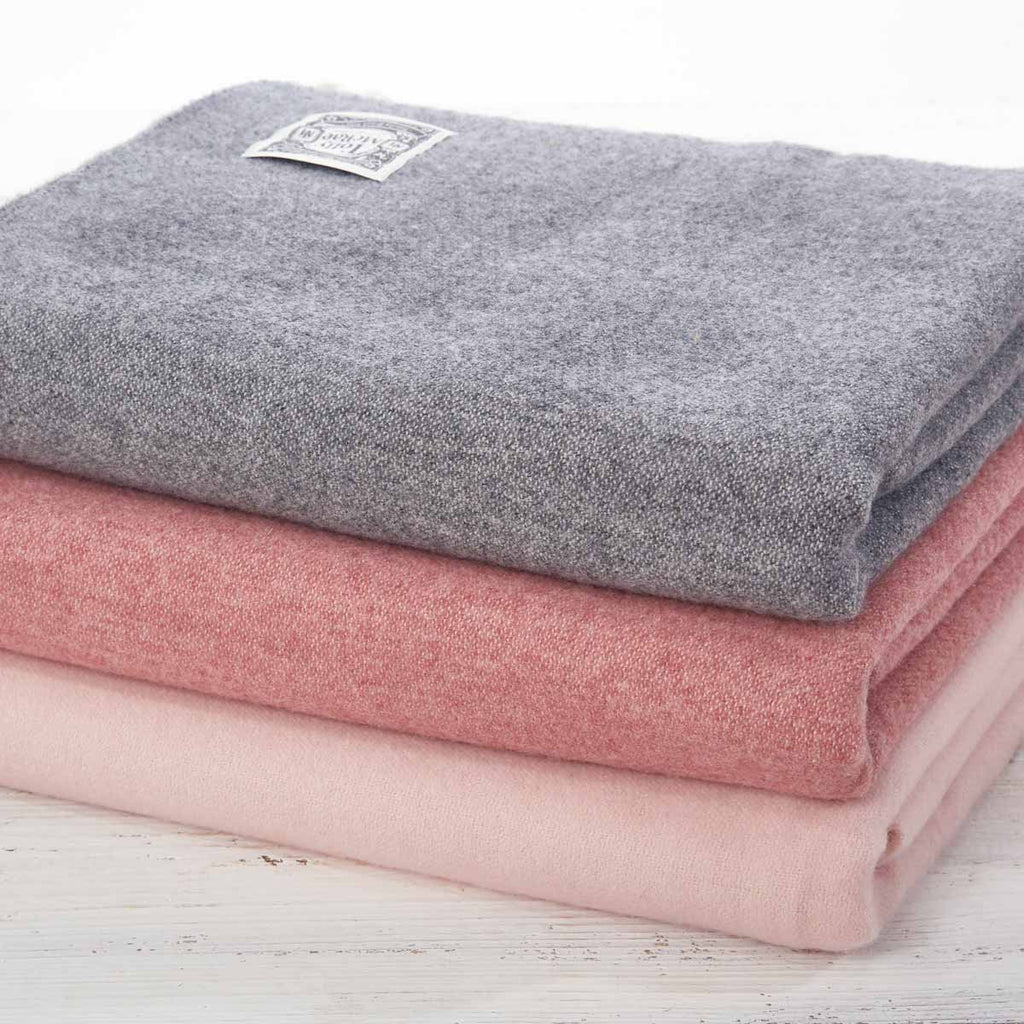 Super Soft Reversible Throw Earl Grey Tolly Mcrae