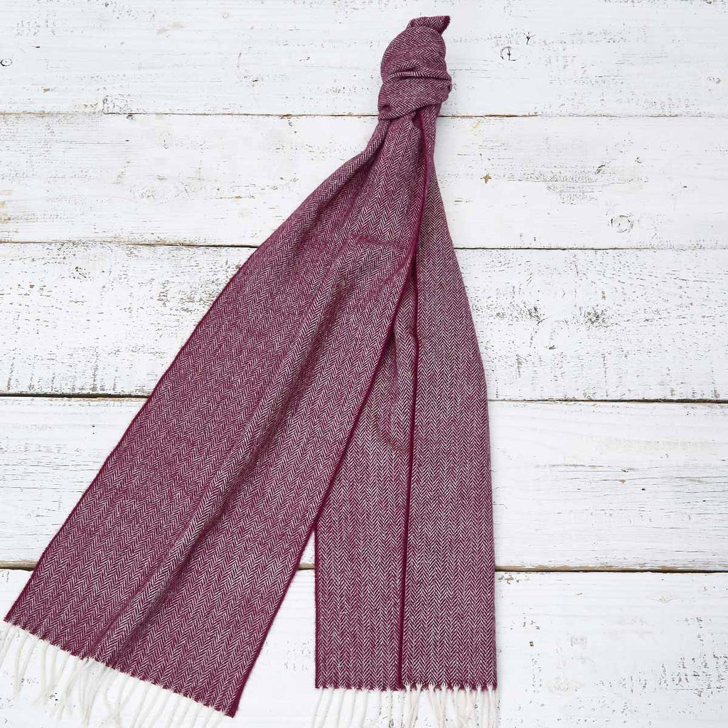 Extra Long Scarf - Mulberry Plum