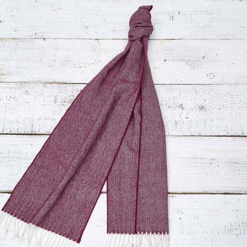 Extra Long Scarf - Mulberry Plum - Tolly McRae